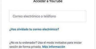 Crear cuenta YouTube