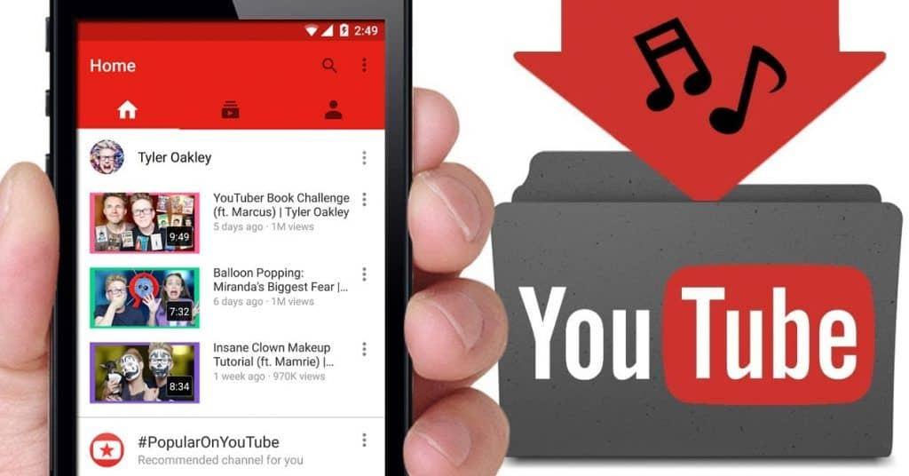 Programa para descargar música de Youtube